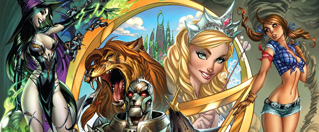 The Wizard of Oz. J. Scott Campbell Zenescope