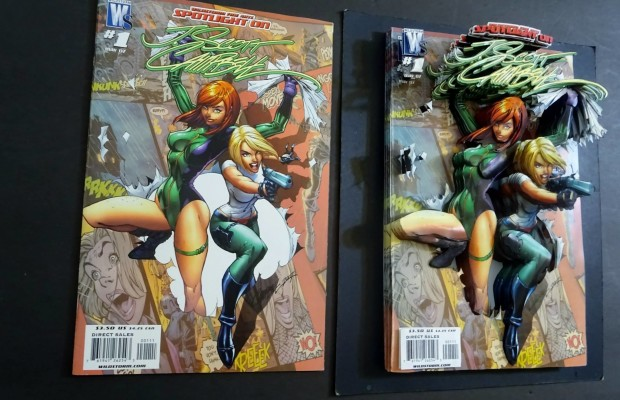 danger girl cover 3d